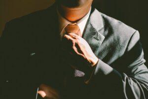 外資系企業の営業マン